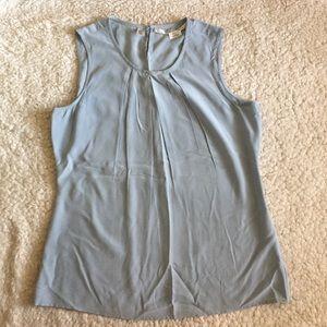 Max Studio Silk Blouse Sleeveless Tank